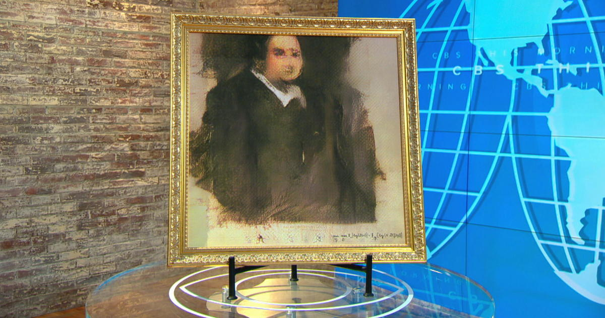 This AI-generated portrait just sold for a stunning $432,500
