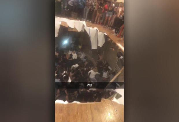 Clemson University floor collapse