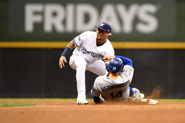 League Championship Series - Los Angeles Dodgers v Milwaukee Brewers - Game Seven