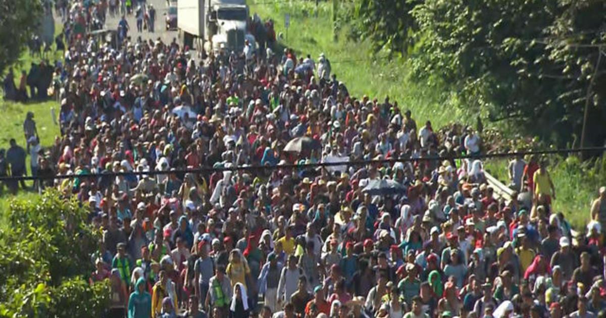 Migrant caravan: What happens if it reaches the U.S. border?