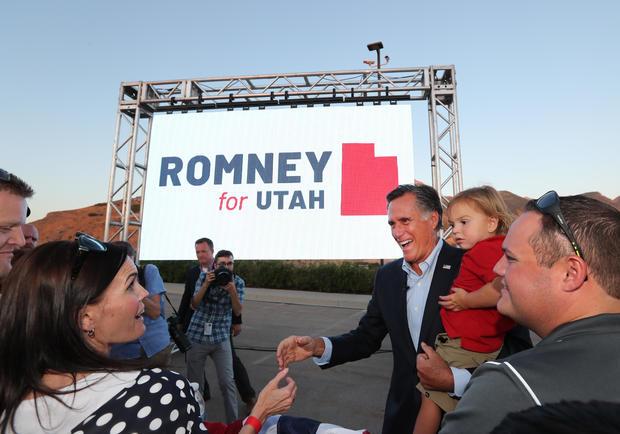 Mitt Romney Runs For Utah Senate Seat In State's Primary
