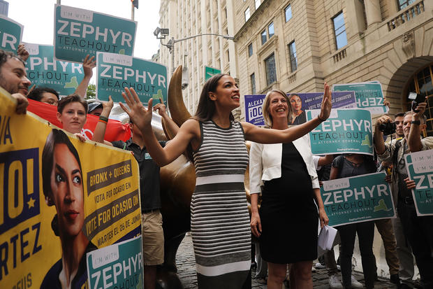 New York Congressional Candidate Alexandria Ocasio-Cortez Endorses NY Attorney General Canidate Zephyr Teachout
