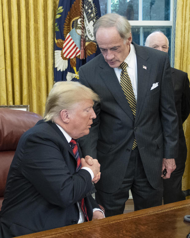 President Donald Trump Signs S.3021
