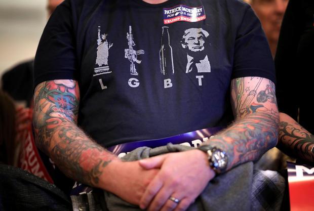 GOP Senate Candidate Patrick Morrisey Campaigns With Donald Trump Jr In WV