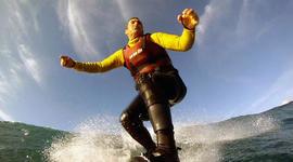Riding the waves of Nazaré with Garrett McNamara