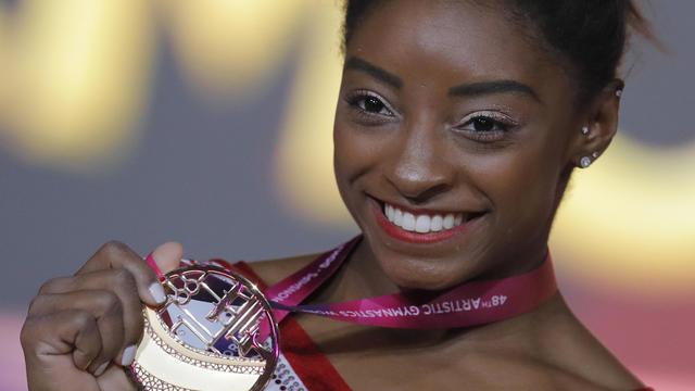 APTOPIX Qatar Gymnastics World Championships