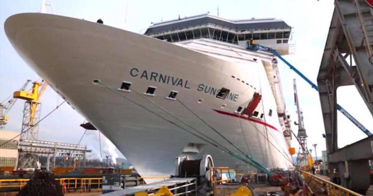 Flipboard Cruise Ships Carnival Cruise Ship Leans Hard