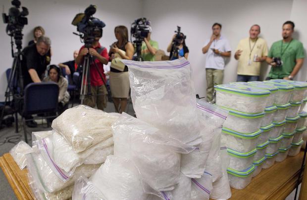 Vegas Methamphetamine Bust
