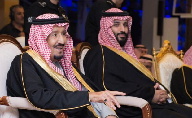 King Salman and Crown Prince Mohammed bin Salman