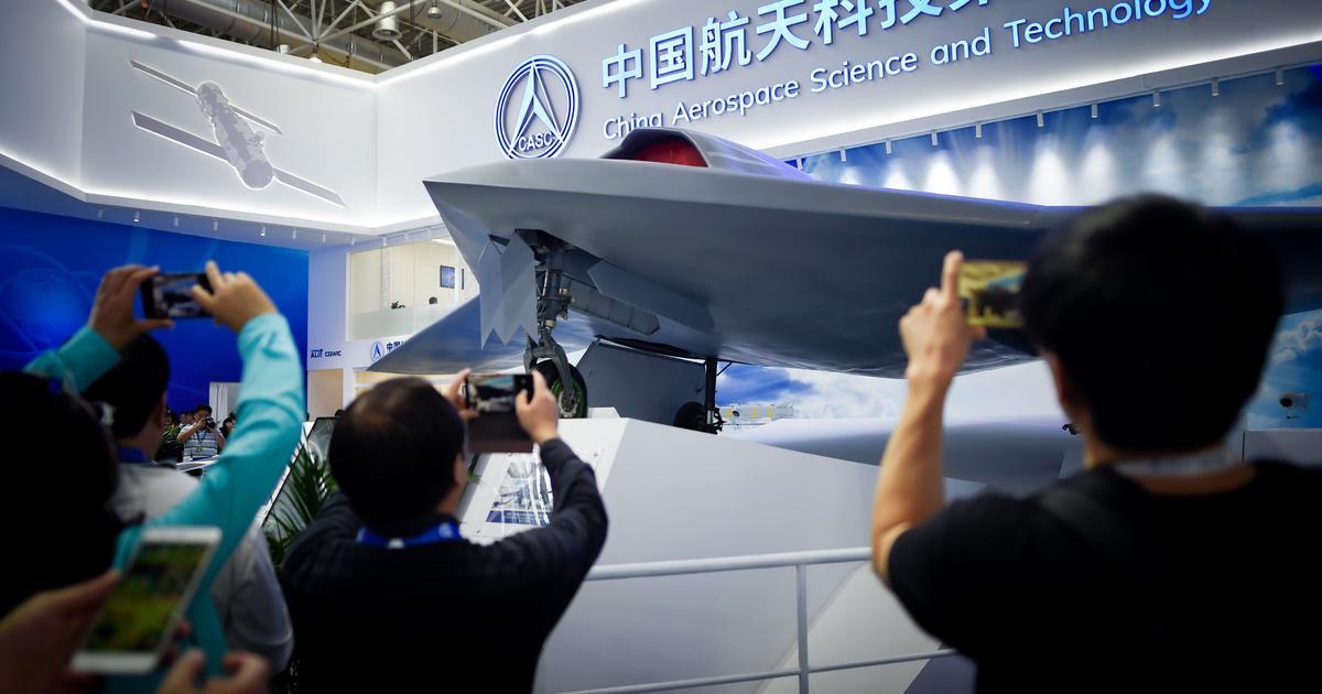 China unveils stealth combat drone under development