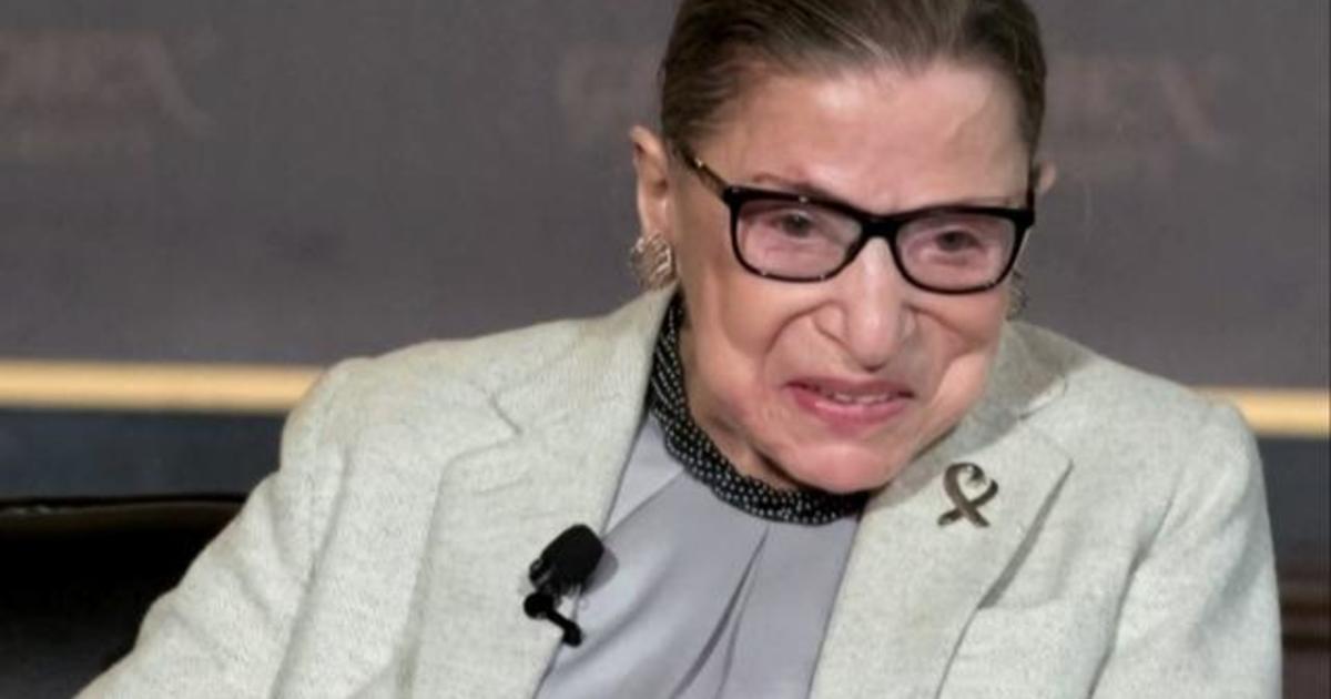 "Better Politics >> Ruth Bader Ginsburg's broken ribs ""should get better,"" Dr. LaPook says - CBS News"