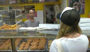 Community buys out donuts so shop owner can spend time with sick wife