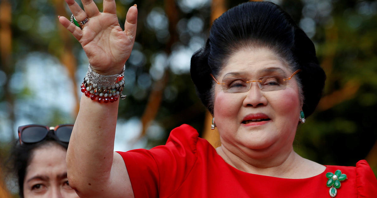 Imelda Marcos convicted of graft in Philippines, ordered arrested