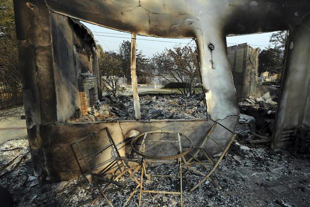 APTOPIX Southern California Wildfires