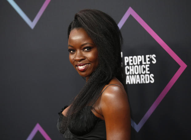 Danai Gurira -- People's Choice Awards 2018