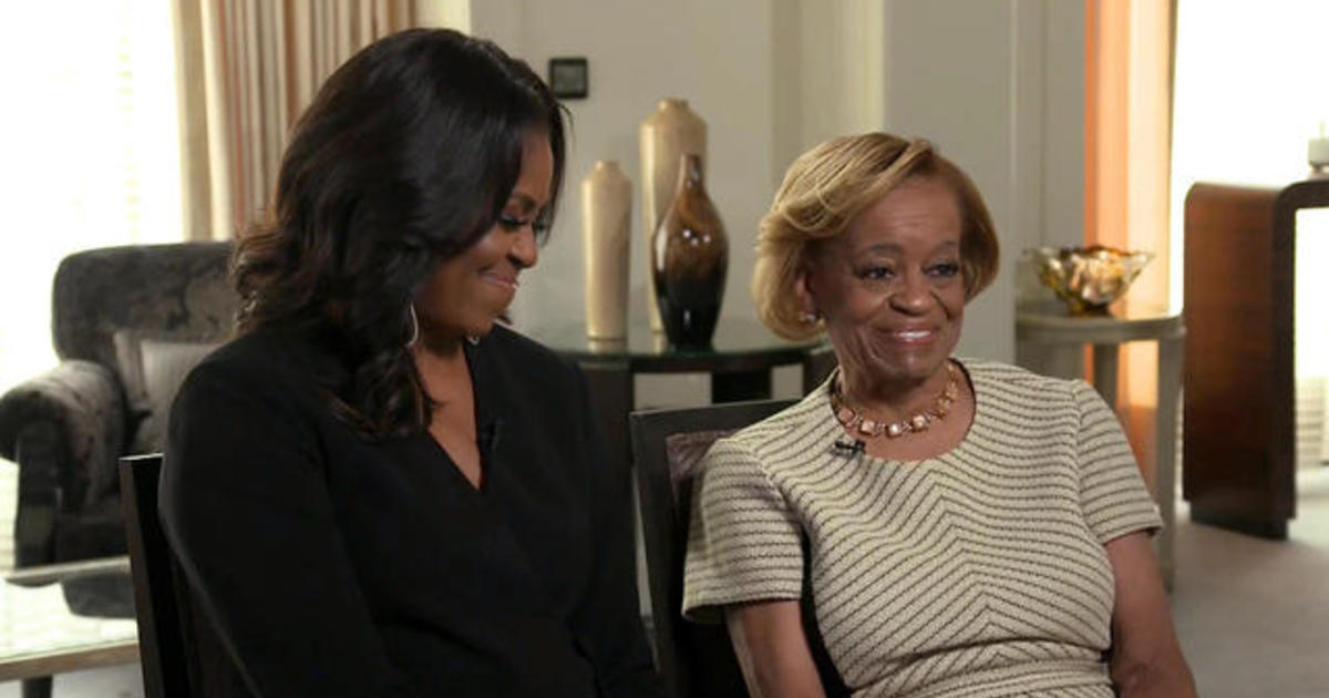 Michelle Obama's mom wants to be Michelle Obama when she grows up