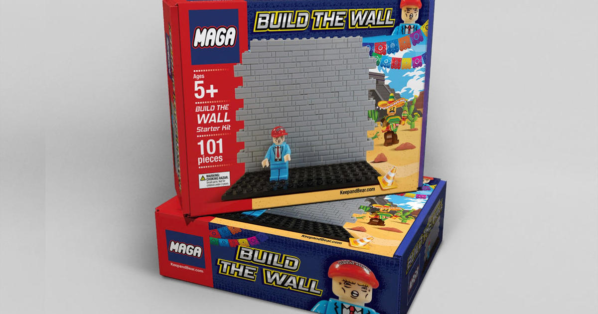 """Pro-Trump company selling Lego-like """"Build the Wall"""" toy ahead of Christmas"""