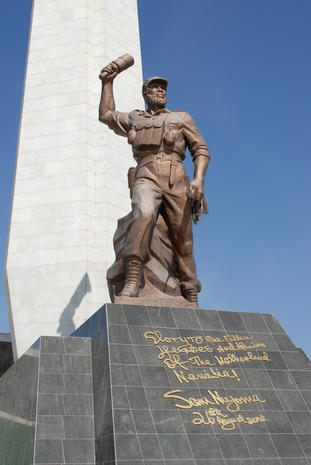 North Korea builds monuments around the world