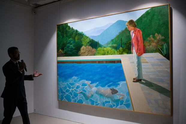 HONG KONG-ART-AUCTION-CHRISTIE'S