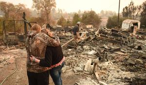 Frantic search underway for Camp Fire victims' remains before rain washes away DNA
