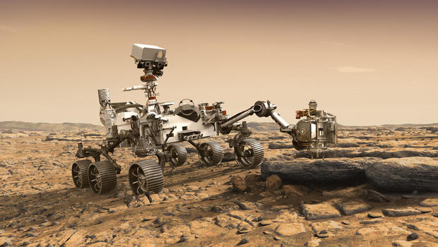 NASA Is Sending Rover to Ancient Mars Delta