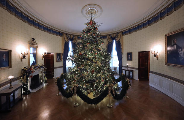 White House Christmas Tree White House Christmas Decorations 2018