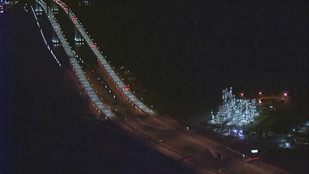 Delaware Memorial Bridge closed tonight: Highly flammable