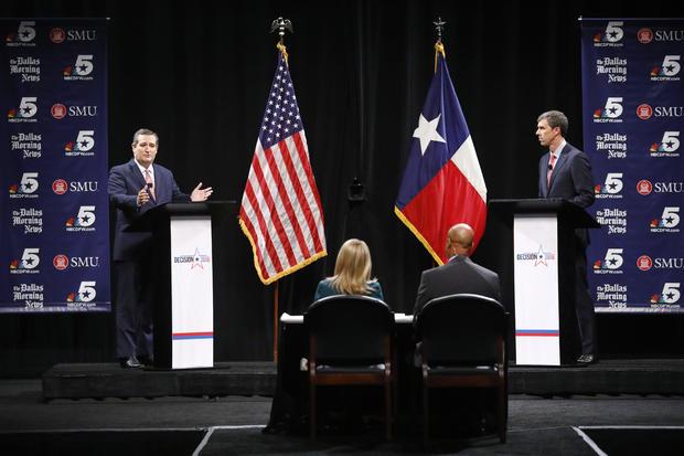 Texas Senate Candidates Ted Cruz And Beto O'Rourke Debate In Dallas
