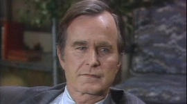 When George H.W. Bush appeared on 60 Minutes