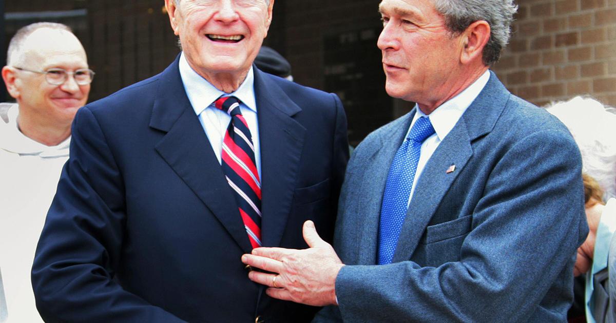 Farewell to President Bush: Family, friends, political ...