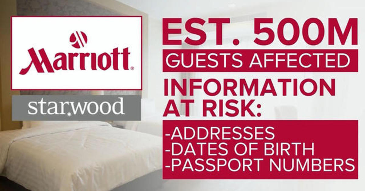 Fallout from massive hack at Marriott's Starwood hotels