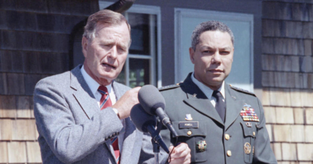 Colin Powell President George H W Bush Was A Man With Vision