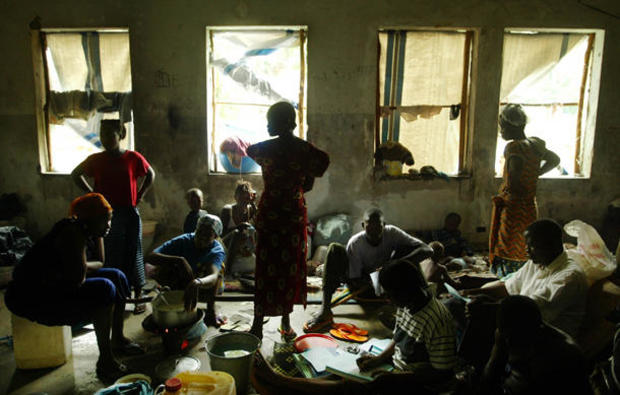 Liberians Flee Fighting To The Capital