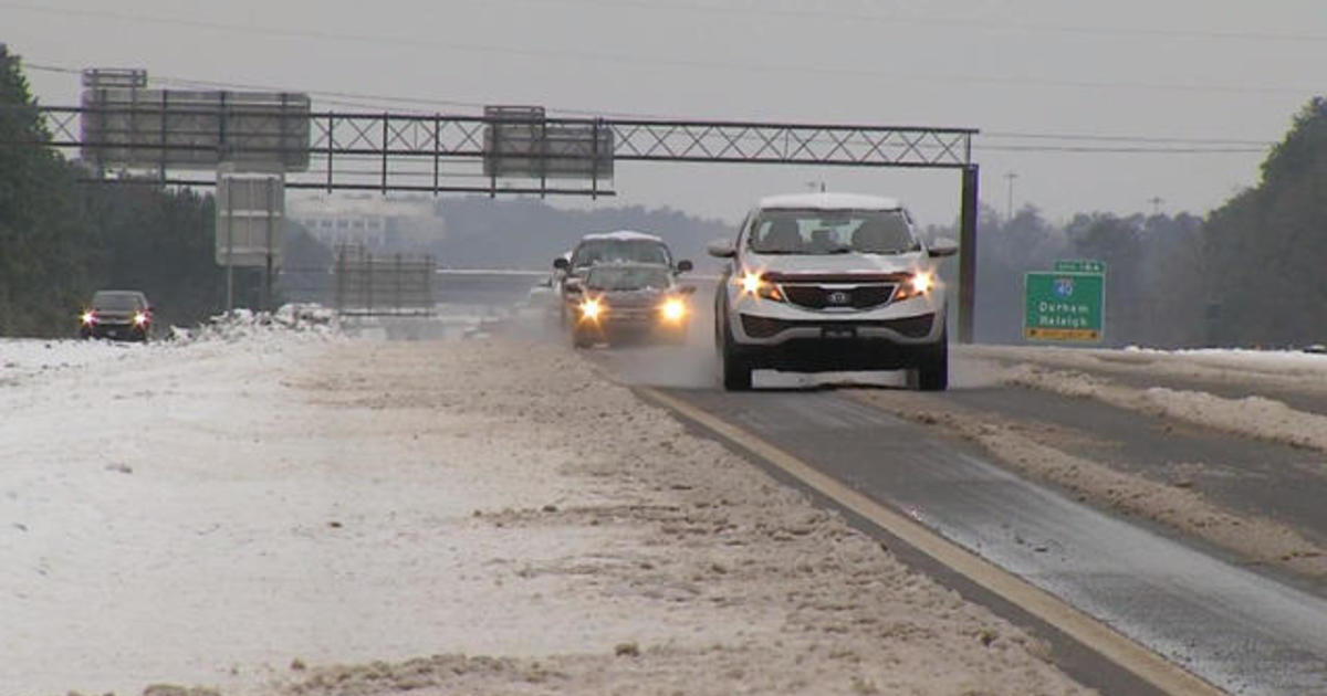 Icy roads a lingering hazard from deadly Southeast pre-winter storm