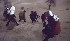 Migrants brave treacherous route through the Alps, chasing dreams of asylum in France