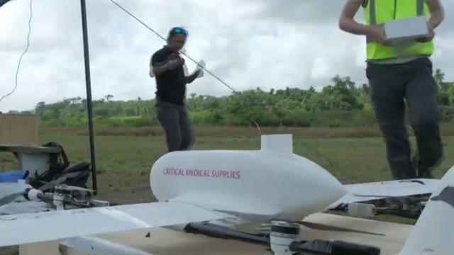 Children On Remote Island Receive First Drone Delivered