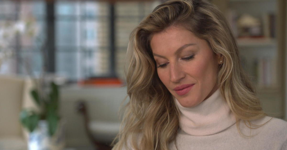 Gisele Bündchen in note to younger self: