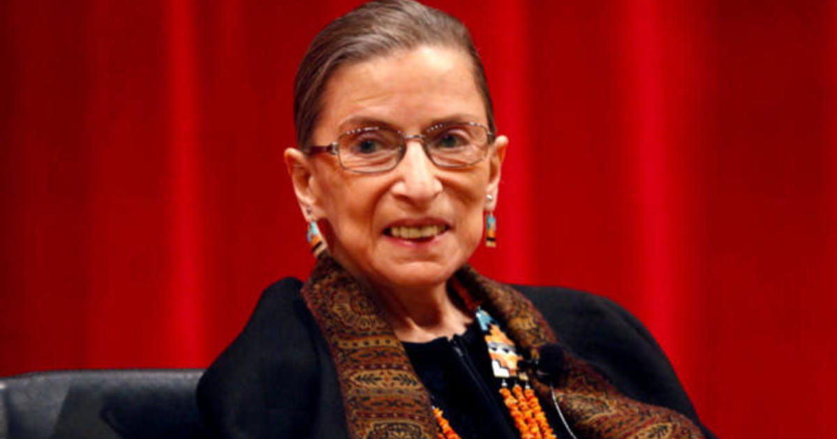 224065b1becc Ruth Bader Ginsburg misses Supreme Court arguments for first time - CBS News