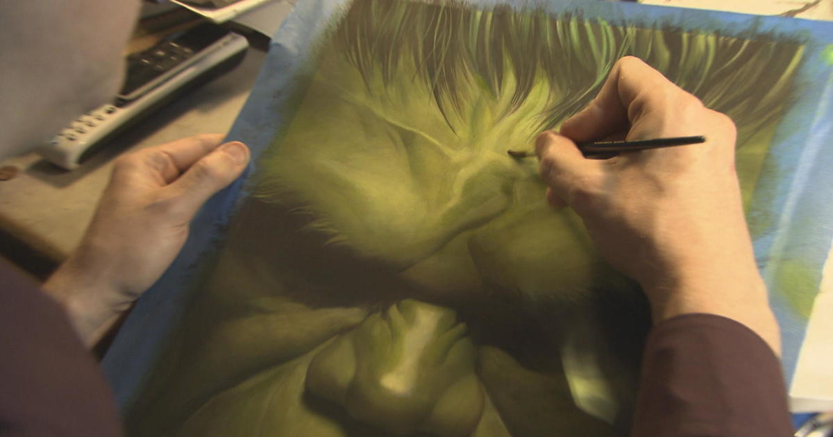 Meet the artist who put a realistic spin on comic book superheroes