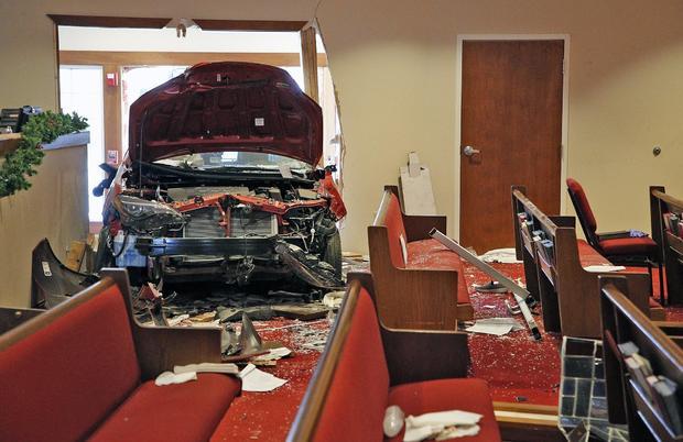 Car Crash-Church