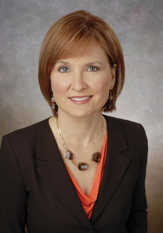 CBS News correspondent Anna Werner