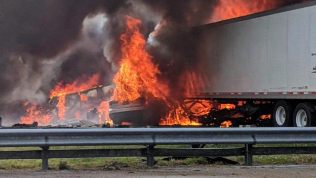 Deadly and fiery Florida car crash investigated as possible homicide