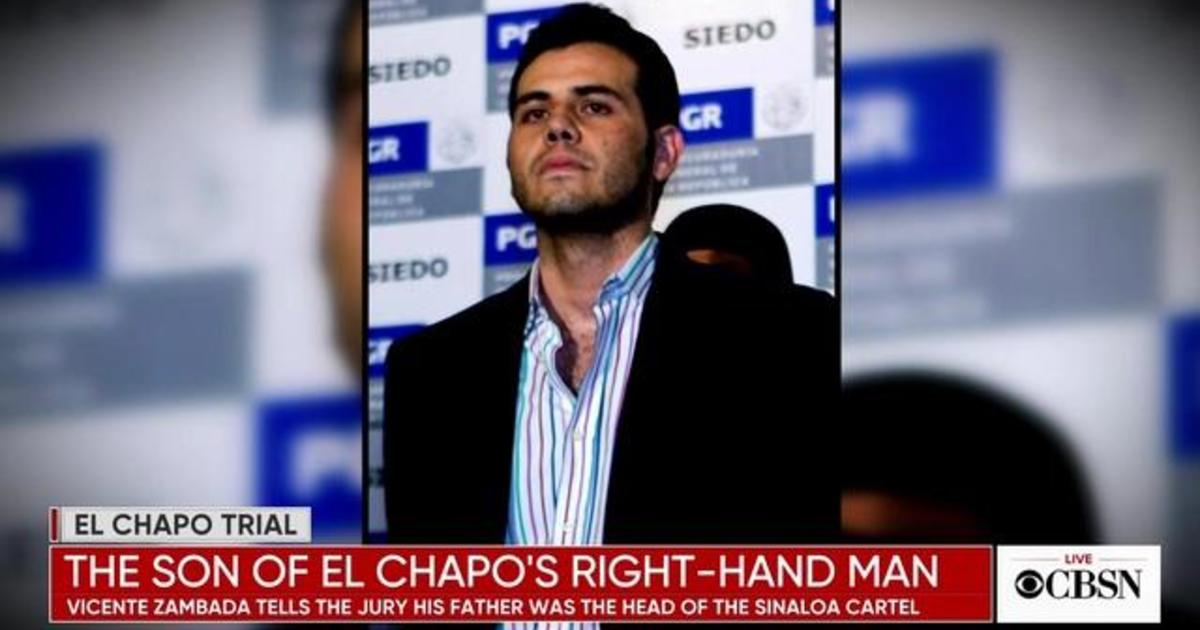Son of El Chapo's partner gives detailed testimony about