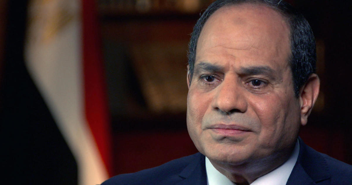 Egypt's President El-Sisi denies ordering massacre in interview his government later tried to block