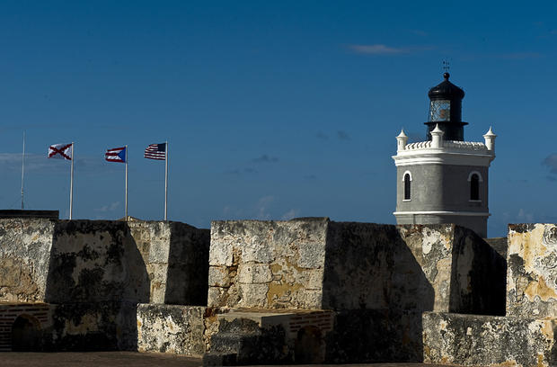 The San Felipe del Morro castle — Puerto Rico