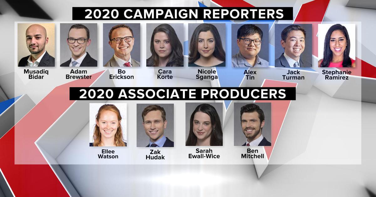 cbsnews.com - CBS News announces 2020 presidential campaign digital journalists