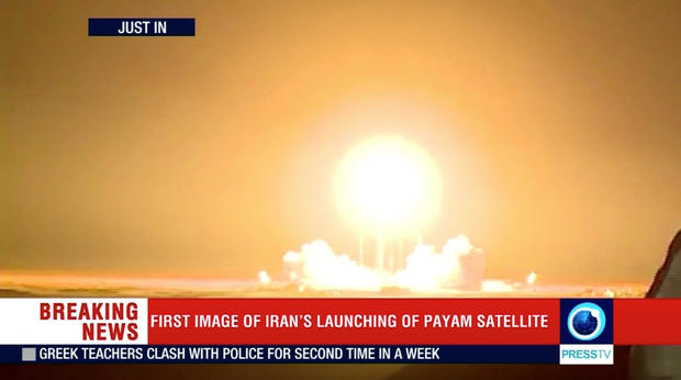 The Payam satellite is launched in Iran