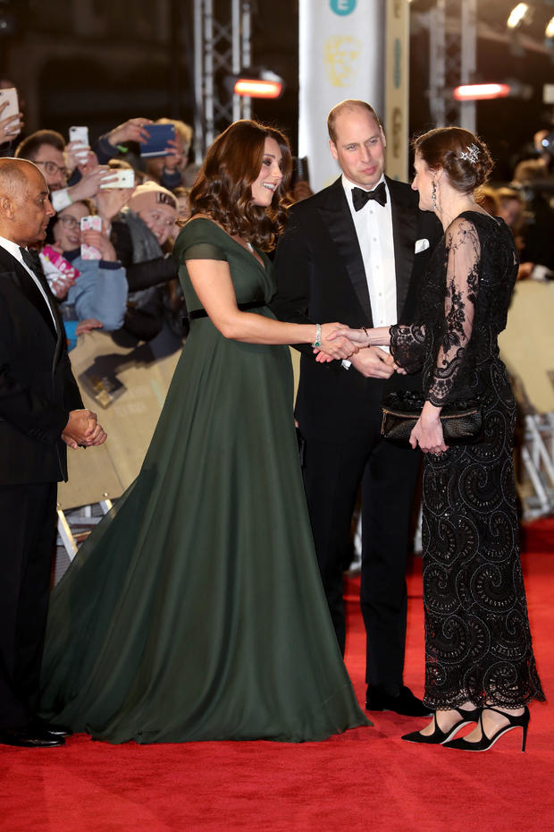 The Duke And Duchess of Cambridge Attend The EE British Academy Film Awards