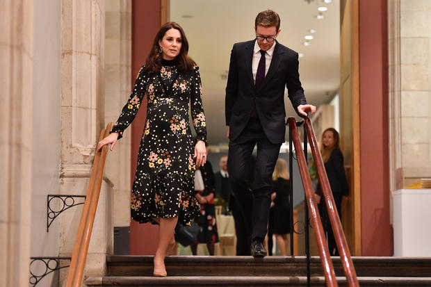 The Duchess Of Cambridge Visits 'Victorian Giants' Exhibition