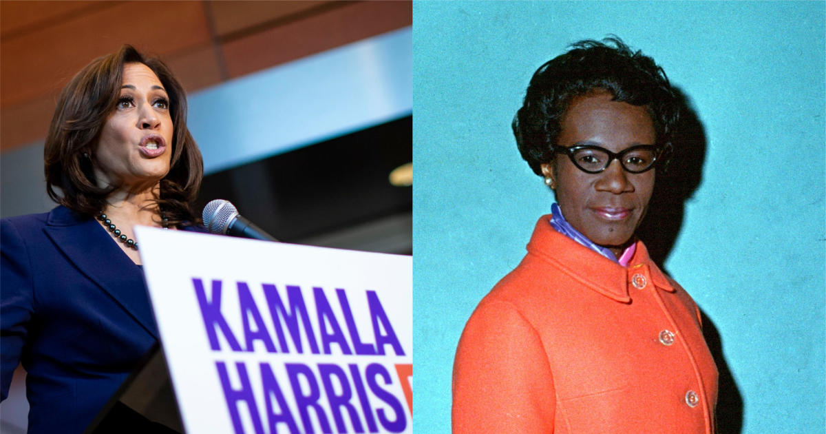 Kamala Harris 2020 Presidential Campaign Logo Pays Tribute To Shirley Chisholm Cbs News